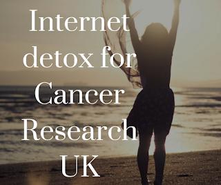 fundraising, internet detox, cancer research fundraising, fundraising ideas,