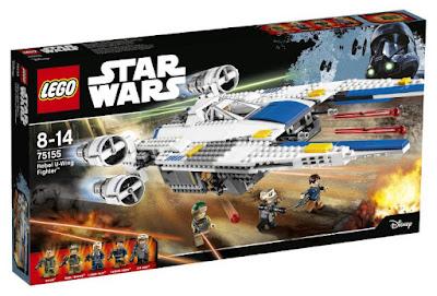 JUGUETES - LEGO Star Wars Rogue One  75155 U-Wing Fighter Rebelde  2016 | PELICULA | Piezas: | Edad: 8-14 años  Comprar en Amazon España