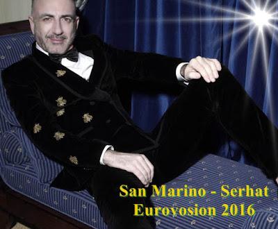 Biografia SERHAT cu I DIDN'T KNOW SAN MARINO EUROVISION 2016