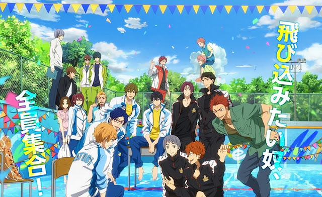 Free!: Take Your Marks (2017) Subtitle Indonesia