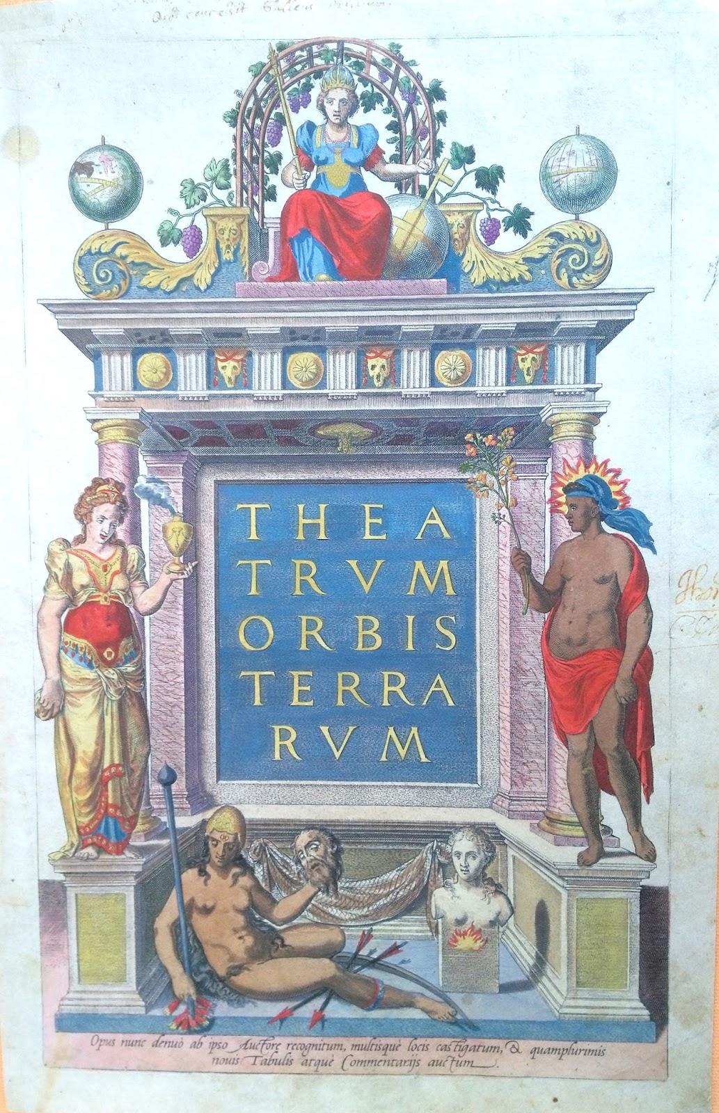 Asesoría Mapas Grabados Libros antiguos