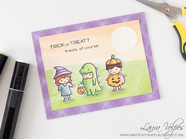 Halloween-card-with-patterned-paper-Lawn-Fawn-Costume-Party