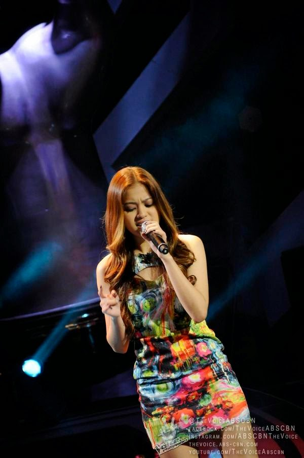 Monique Lualhati sings 'When I Was Your Man' on 'Voice PH' Season 2