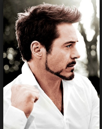 Robert Downey Jr A K A Iron Man Hairstyles Mens