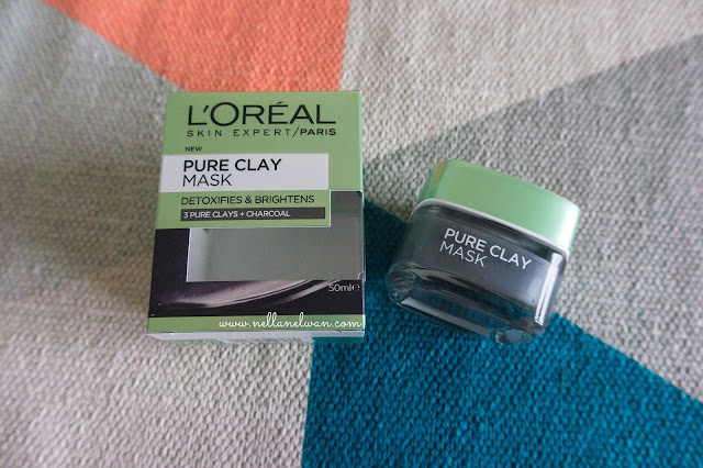 loreal pure clay mask review nellanelwan