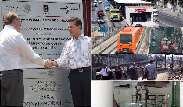 5 ejemplos de la necedad de inaugurar obras públicas con defectos