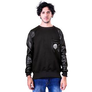 Sweater Pria GSHP Saku Depan