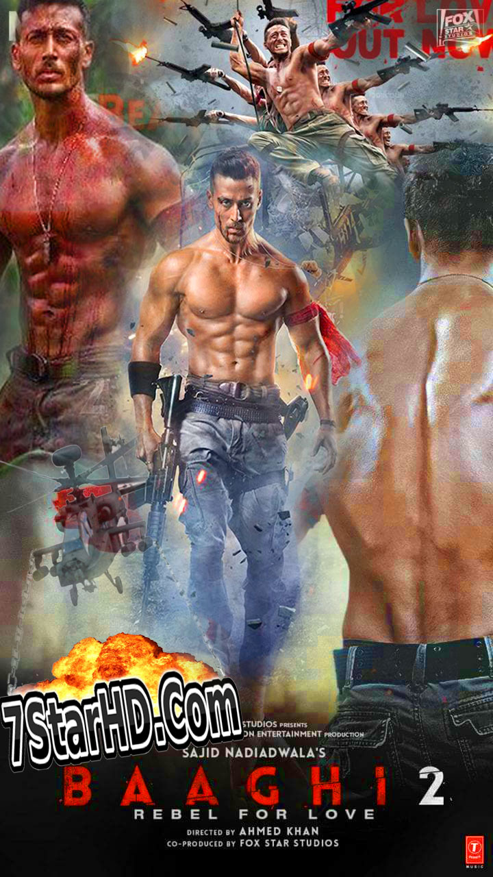 Baaghi 2 2018 Hindi 1080p Proper HDRip x264 1.4GB