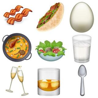 newly approved food emoji