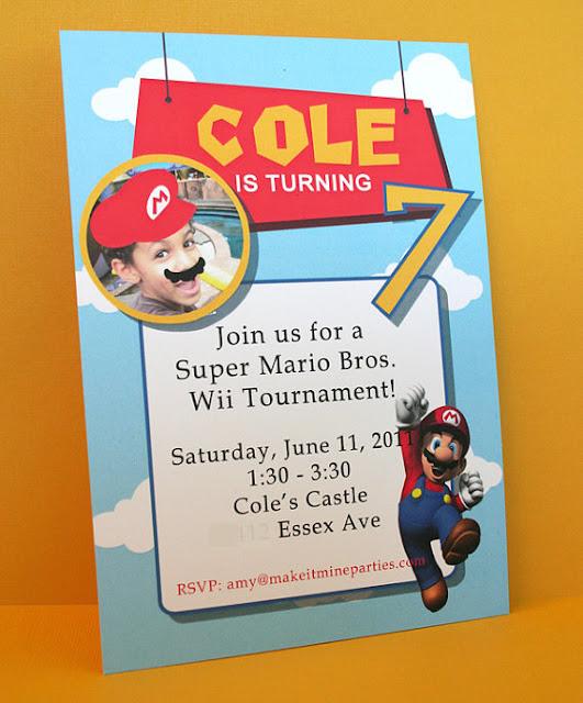 Super Mario Party Amy S Party Ideas