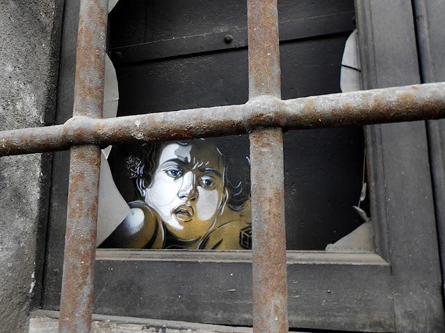 Уличное искусство Кристиана Гуеми (Christian Guémy aka C215) 23