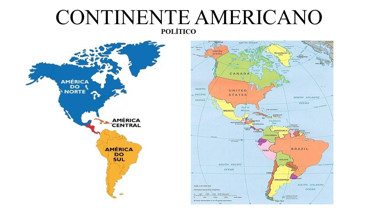 Resultado de imagem para continente americano