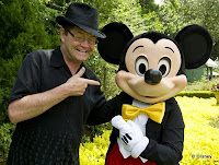 Mickey Dolenz and Mickey Mouse Epcot Flower and Garden
