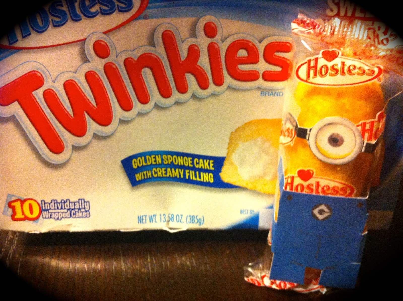 The Crafty Crazy Despicable Me Minion Twinkies