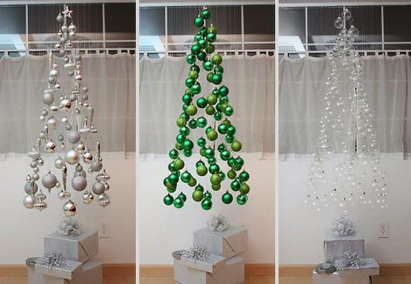 Favoloso Albero di Natale con palline sospese - La CASA Delle IDEE EN45