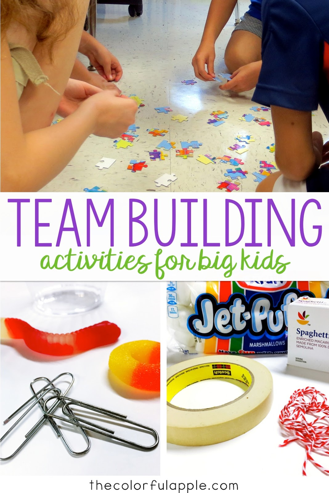 Team Building Activities For Back To School