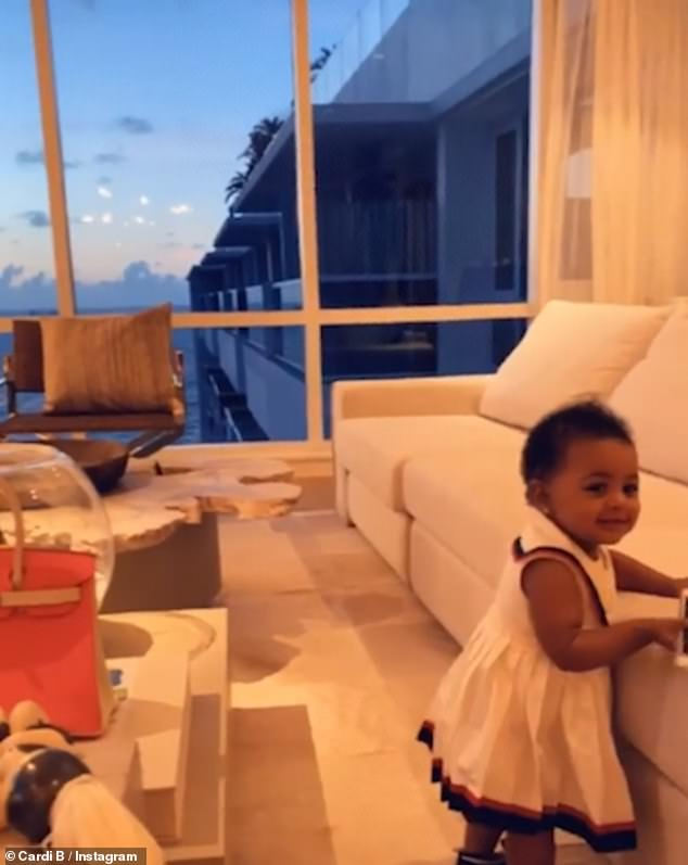 Cardi B celebrates first Mother's Day with Offset as she flaunts her lavish gift