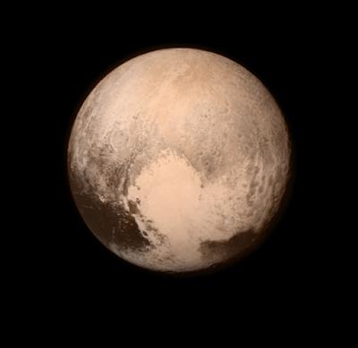 Pluto's Big Heart via NASA