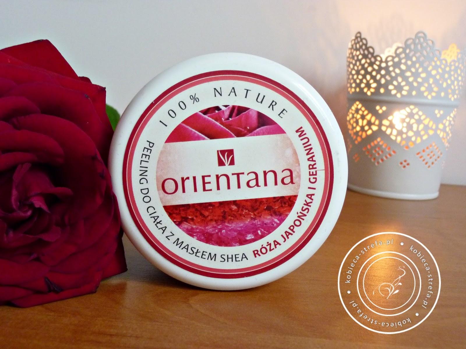 Bogactwo zapachu zamknięte w pudełku czyli peeling do ciała z masłem shea - róża japońska i gardenium - 100% nature