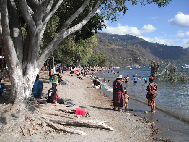 Jucanya Panajachel Lake Atitlan Guatemala beach
