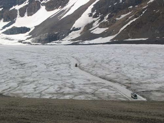 Road Across The Glacier.