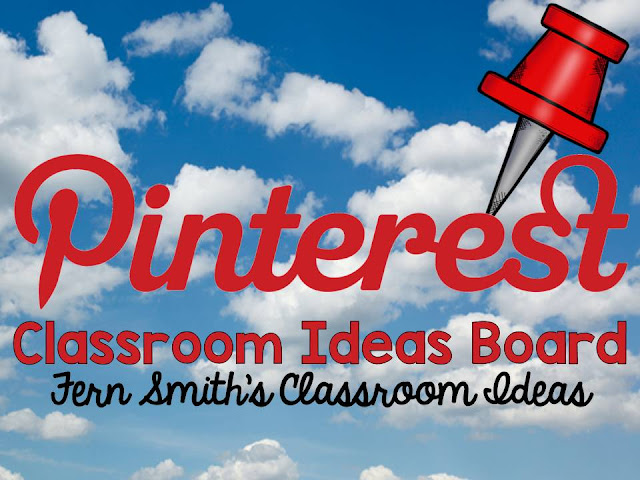Fern Smith's Classroom Ideas Pinteresting Classroom Ideas Board for Teachers on Pinterest! Recommended by Pinterest for New Teacher Members! #FernSmithsClassroomIdeas