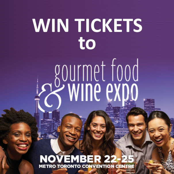 Win Tickets to Gourmet Food & Wine Expo 2018