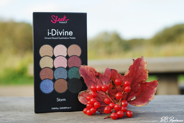 Sleek Makeup I-Divine Storm Eyeshadow Palette