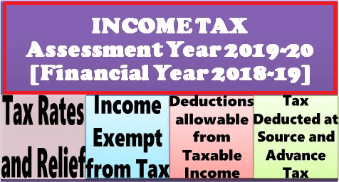 income-tax-for-assessment-year-2019-20