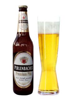 Perlenbacher Premium Pils, una cerveza alemana.