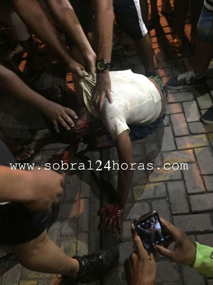SOBRAL:Dois menores assaltam taxista e quase são linchados pela população