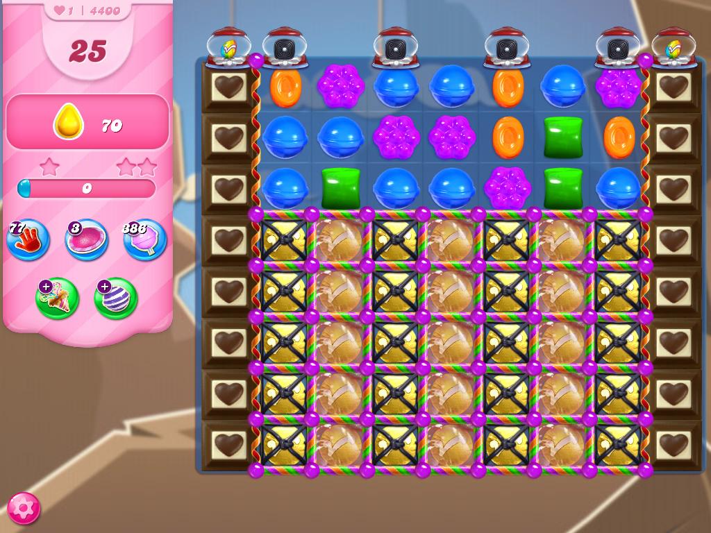 Candy Crush Saga level 4400