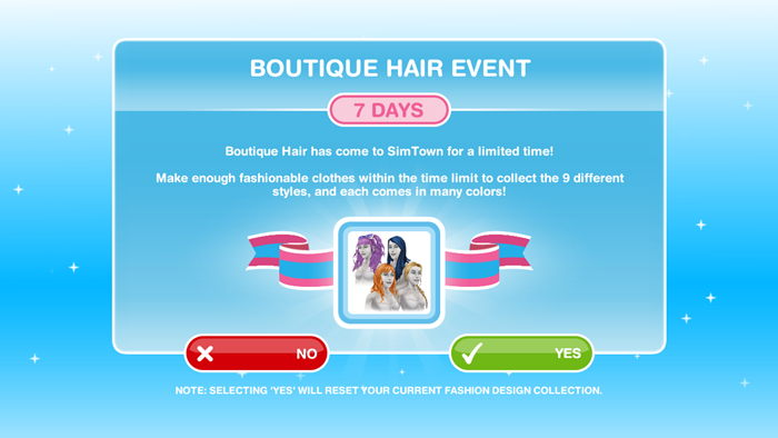 How To Complete Boutique Hair Event The Sims Freeplay Freeplay Guide