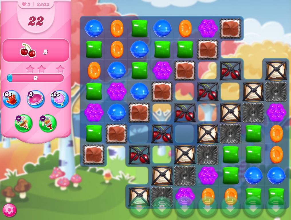 Candy Crush Saga level 3802