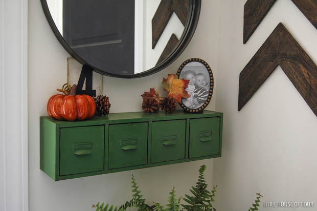 Designed For Fall Home Tour - Little House of Four