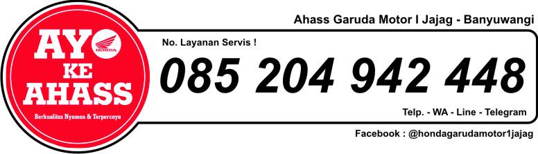 Nomor Ahass honda Garuda Motor 1 Jajag banyuwangi