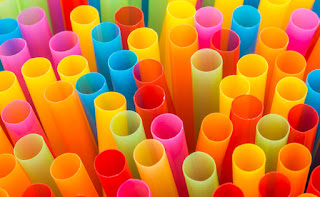 edible straws, colorful straws