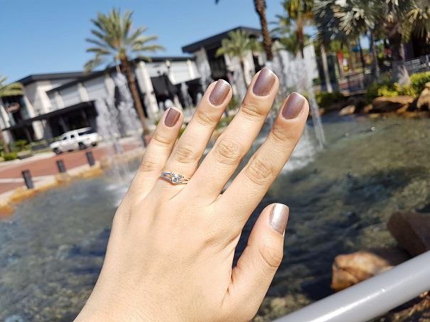 anel de noivado disney