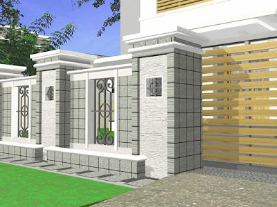 44 model gambar pagar rumah minimalis eksklusif