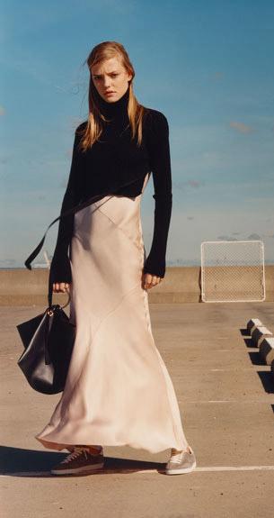 vestido largo Zara Studio edición limitada