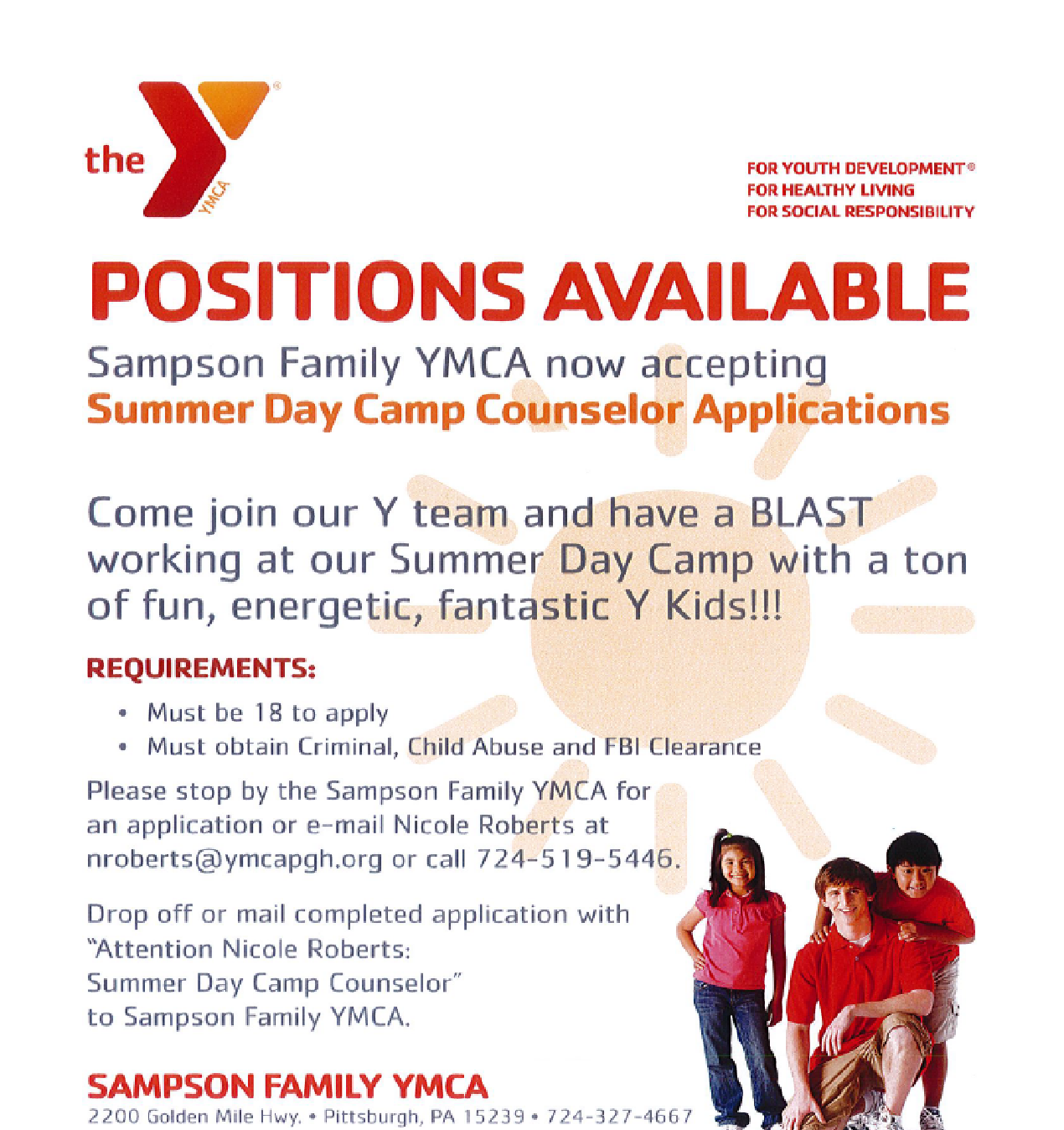 Ymca Youth Camps: The PSNK Work Bench