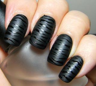 Matte Nail Polish Opi Black - Creative Touch