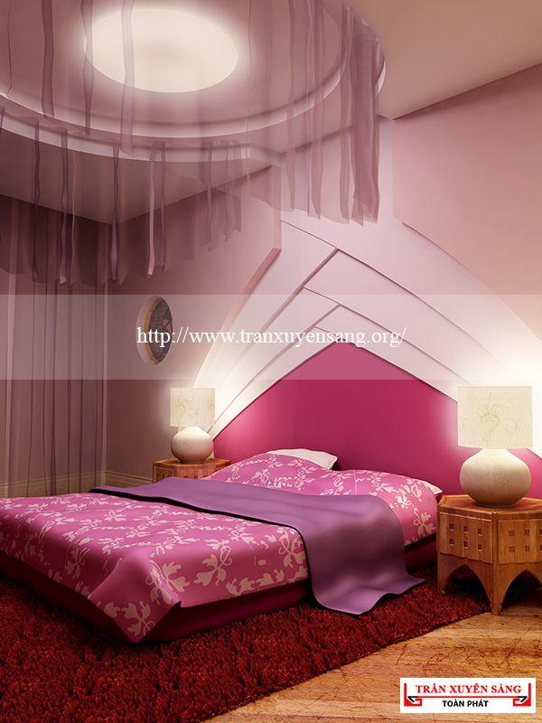 Mẫu trần phòng ngủ lãng mạn 5