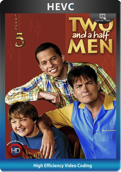 Two And Half Men (2007) S05 1080p AMZN WEB-DL Dual Latino-Inglés [HEVC-10bit] [Subt. Esp] (Serie De TV. Comedia)