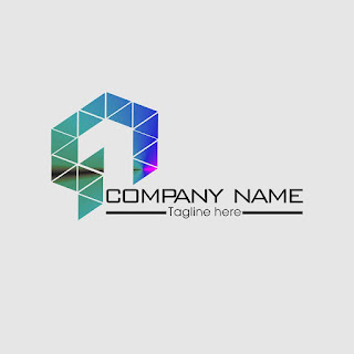 Number 1 Triangles Logo Template Free Download Vector CDR, AI, EPS and PNG Formats