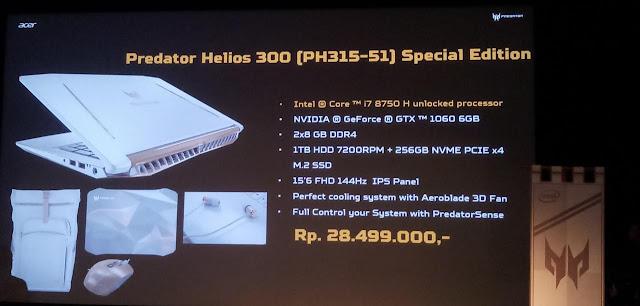 acer predator helios 300 special edition