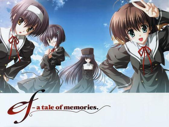 ef: A Tales Of Memories di Rekomendasi Anime Romance - Drama Terbaik