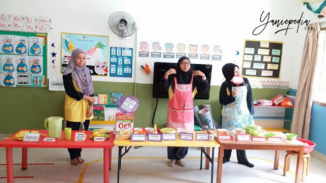 cooking class in little bumblebee montessori preschool shah alam