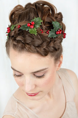 Christmas gift hair clips