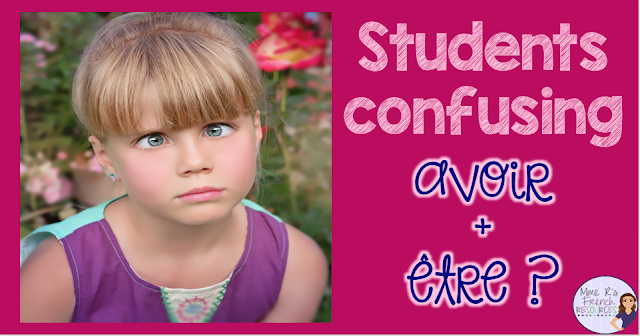 Conjugating French verbs is tricky, but using the right verb is even trickier! Students often confuse avoir and être. Get tips here!